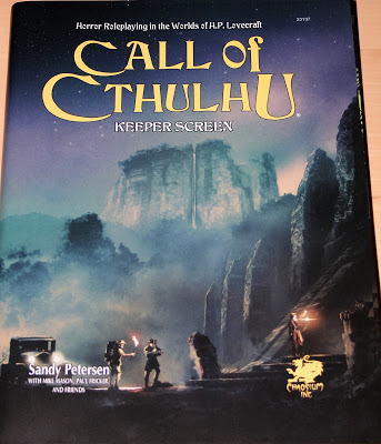 Call of Cthulhu Keeper Screen (7ª edición USA)