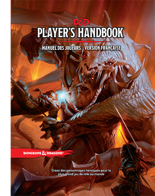 D&D quinta edición será finalmente traducido al español