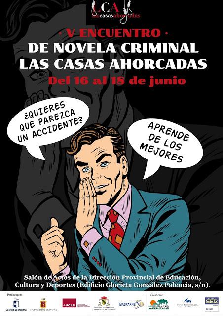 V Encuentro de Novela Criminal Las Casas Ahorcadas