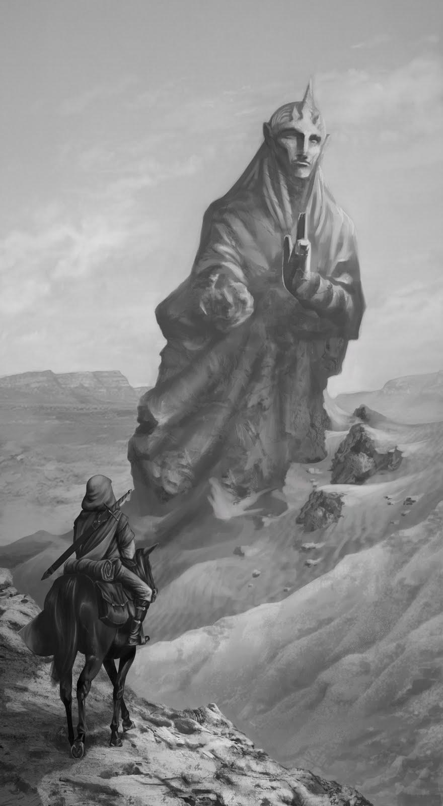 Estatua-desierto