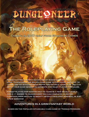 Dungeoneer. El juego de rol…
