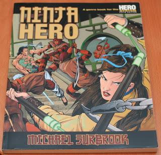 Ninja Hero, Wuxia para HERO System