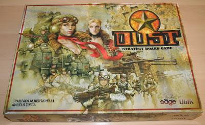 Dust, el juego de tablero