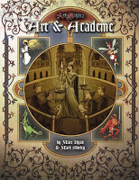 Ars Magica RPG: Art & Academe