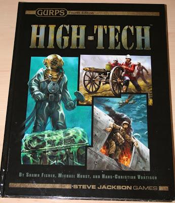 Reseña fotográfica GURPS: High-Tech 4ª Edición