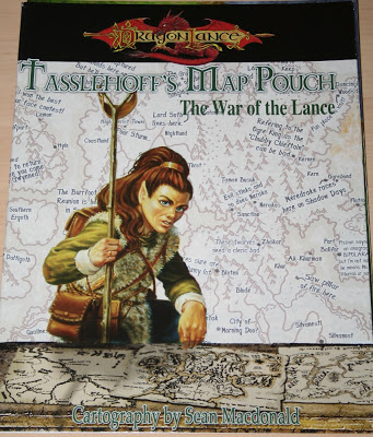 Tasslehoff's Map Pouch: The War of the Lance