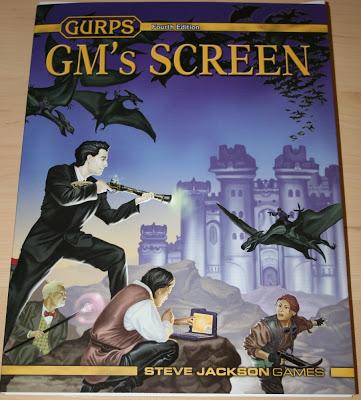 Pantalla del GM para GURPS