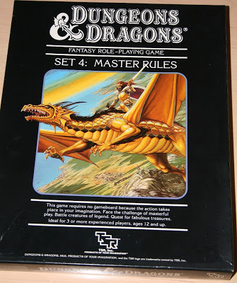 Dungeons & Dragons Master Rules Set