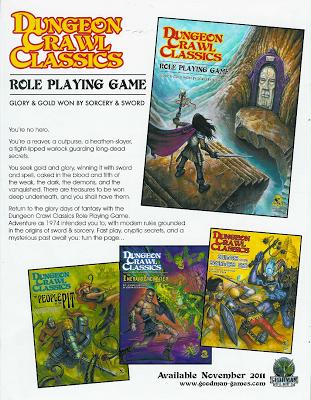 Más cosillas sobre DCC RPG