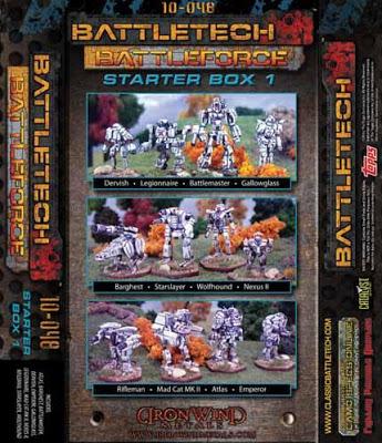 BattleTech Miniatures: Battle Force Scale Starter Box # 1