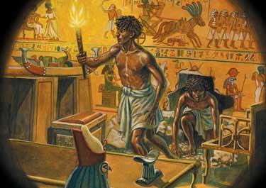 La maldición del Faraón caiga sobre vosotros…