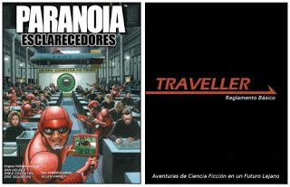 Vuelven Paranoia y Traveller en español