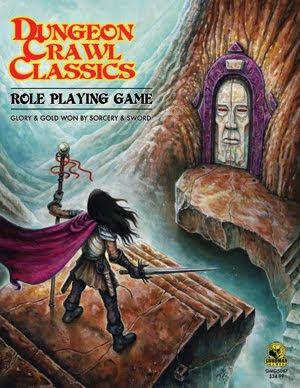 Dungeon Crawl Classics RPG en Tesoros de la Marca