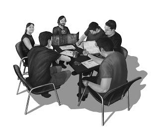 La mesa de juego