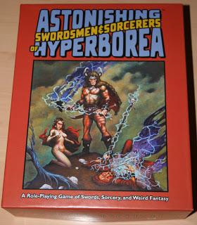 Astonishing Swordmen & Sorcerers of Hyperborea photo review, 1ª Parte