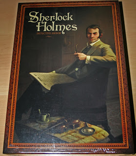 Unboxing de Sherlock Holmes: Detective Asesor