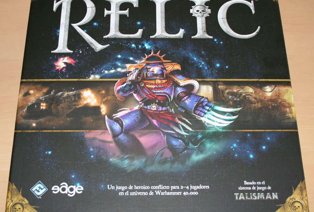 Unboxing de Relic
