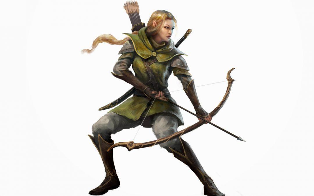 La elfa ya terminada