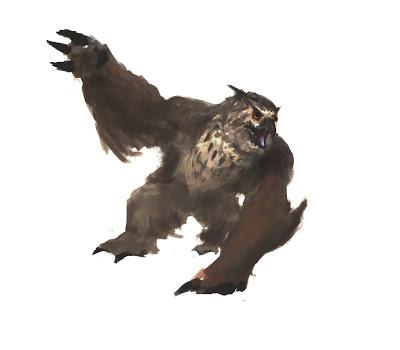 El oso lechuza