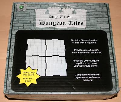Dry-Erase Dungeon Tiles