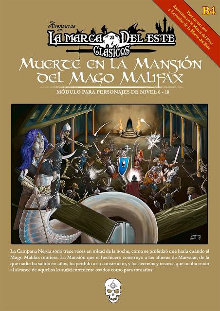 Muerte en la Mansión del Mago Malifax avanza