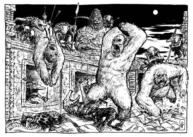 5--Kobolds-vs-gorilas--Ciudad-perdida-de-Garan