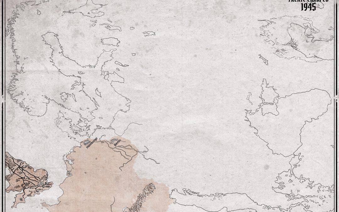 Boceto del plano de Europa en 1944